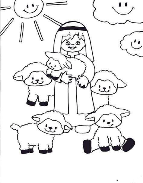 parable of the good shepherd the good shepherd