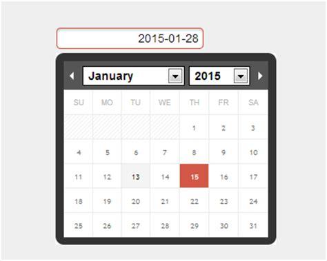ionic datepicker tutorial ion calendar jquery calendar and datepicker jquery plugins