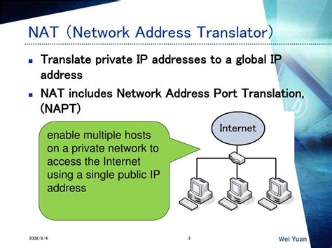 network address translation tutorial ppt ppt a new method for symmetric nat traversal in udp and