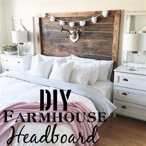 diy king farmhouse headboard deeply distressed diy and crafts