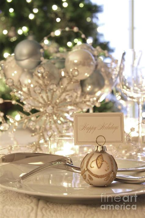 elegant dinner tables pics elegant holiday dinner table with focus on place card