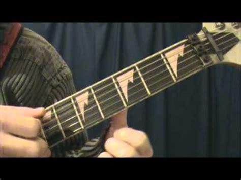 tutorial gitar metallica git 225 r leck 233 k playlist