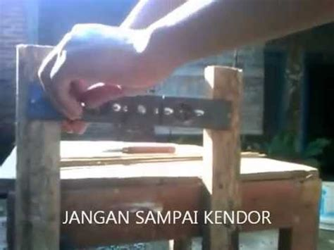 Pisau Serut Bambu serut bambu videolike