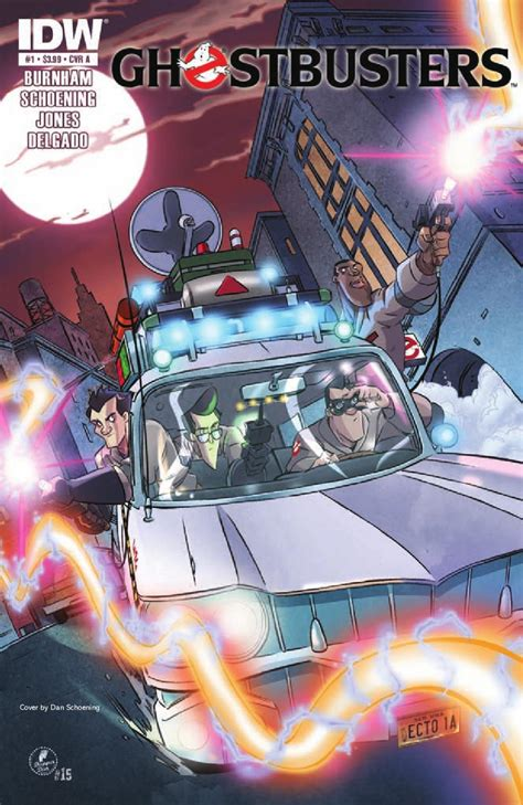 Sulap Evp Alan Rorinson ghostbusters 1 by idw publishing issuu