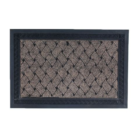 Non Slip Outdoor Rug 2015 New Arrival Rubber Entrance Indoor Outdoor Door Mat Rug Rectangular Black Non Slip Non Skid