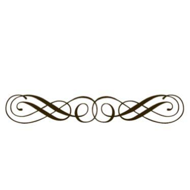 decorative line divider photoshop fancy dividers clipart