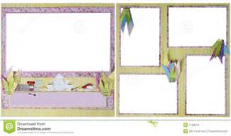 Free Scrapbooking Templates To by Tea Scrapbook Frame Template Royalty Free Stock