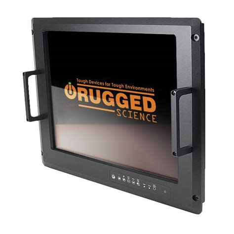 Rugged Monitors by Milview 24 Flat Panel Display Rugged Science