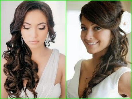Brautfrisur Dunkle Haare by Brautfrisuren Dunkle Haare