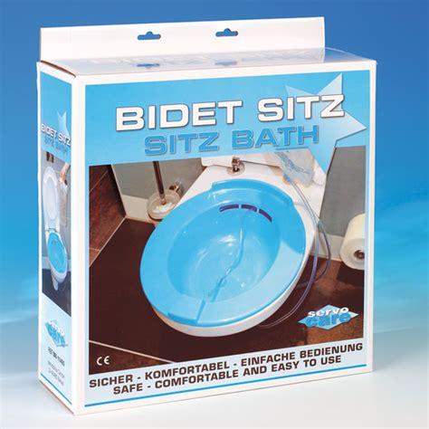 bidet sitz bidet sitz praktisches sitzbad f 252 r die toilette