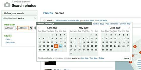 ui pattern date range calendar picker design pattern