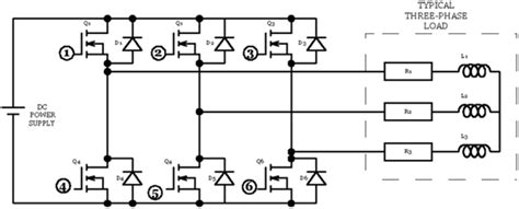 3 phase inverter circuit diagram free familiarization with the chopper inverter unit inverter modes power electronic