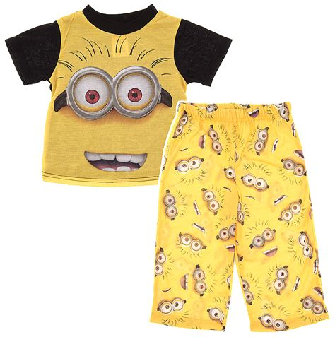 Pajamas Minion toddler pajamas selection at crazyforbargains