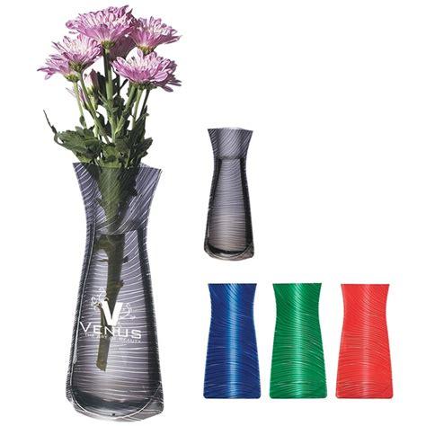 Foldable Vase by Customized Foldable Designer Print Flower Vase