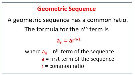 geometric designs using arithmetic progression geometric sequences exles solutions worksheets