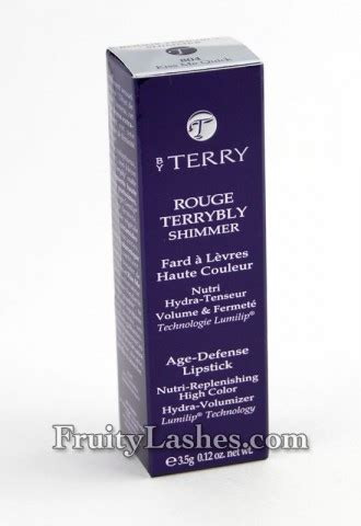 by terry rouge terrybly age defense lipstick 201 terrific rouge by terry kiss me quick has got to be a terrybly in love