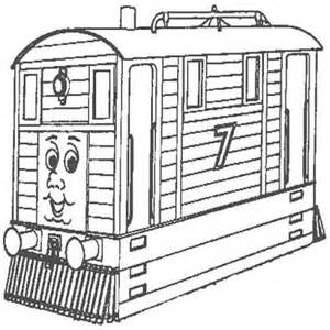 Toby Thomas And Friends Coloring Page sketch template