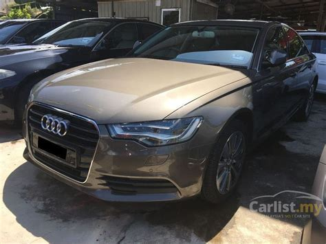 2013 Audi A6 2 0 Tfsi audi a6 2013 tfsi 2 0 in selangor automatic sedan brown