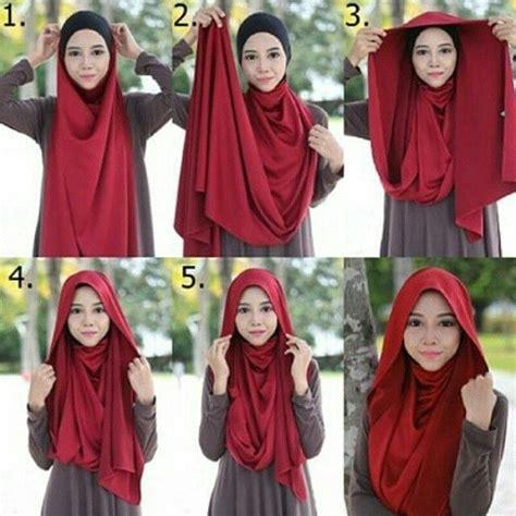 tutorial jilbab segi empat tutup dada 8 tutorial jilbab menutup dada untukmu yang ingin bergaya
