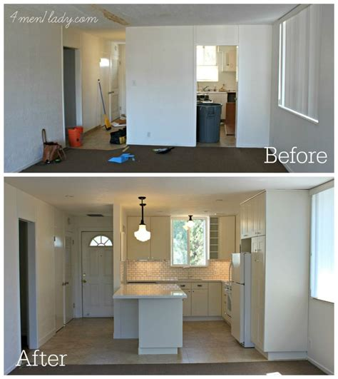 before after jennifer s style added bedroom makeover 25 best ideas about small condo kitchen on pinterest
