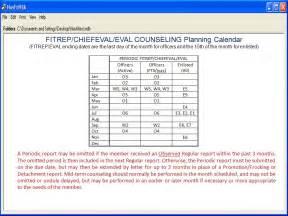 navy prt cycle dates eval pdf navy