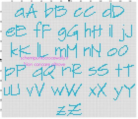 lettere da ricamare alfabeto punto croce da ricamare per bambino sketchflow