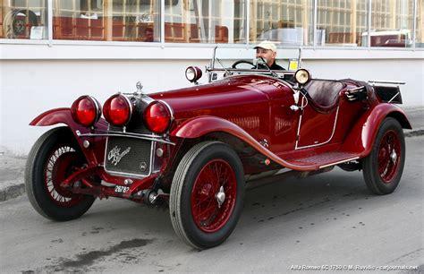 vintage alfa romeo 6c alfa romeo 6c 1750 car journals