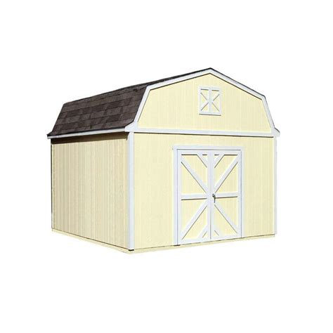 handy home products somerset 10 ft x 8 ft wood storage
