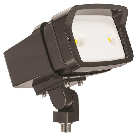 Lithonia Outdoor Lighting Lithonia Lighting Ofl1 Led Bronze Outdoor 5000k Flood Light Ofl1 Led P1 50k Mvolt Thk Ddbxd M4