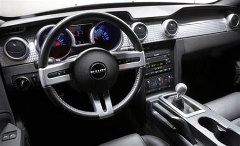 Bullitt Mustang Interior car and driver