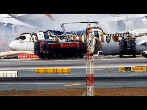 emirates flight 521 emirates flight 521 crash landed at dubai international