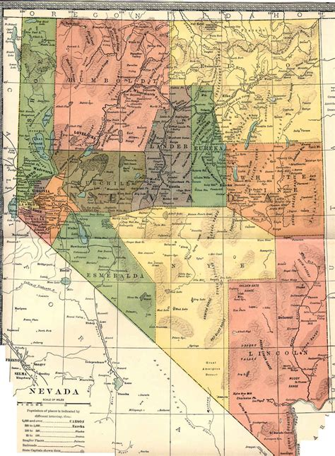 nevada state maps nevada maps nevada digital map library table of contents