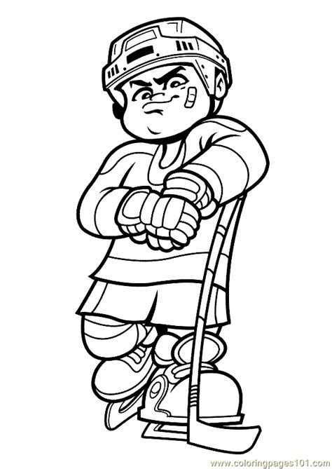 winter sports coloring pages free printable winter sports coloring page 03