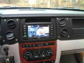 2006 Jeep Commander Radio Mygig Bezel Modification Jeep Commander Forums Jeep