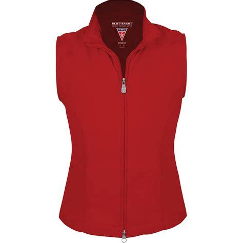 SCOTTeVEST RFID Travel Vest for Women (Medium, Red) RVWMR B&H