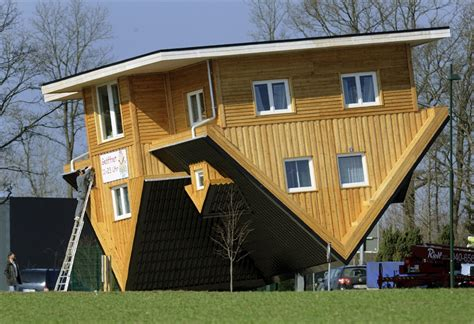 up side down house crazy upside down house in germany photos