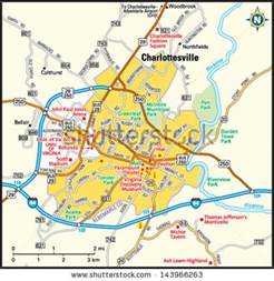 Charlottesville Virginia Map by Charlottesville Stock Photos Charlottesville Stock
