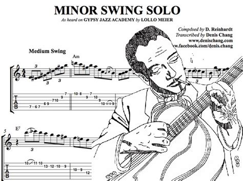 minor swing django cp la fauvarge le jazz manouche