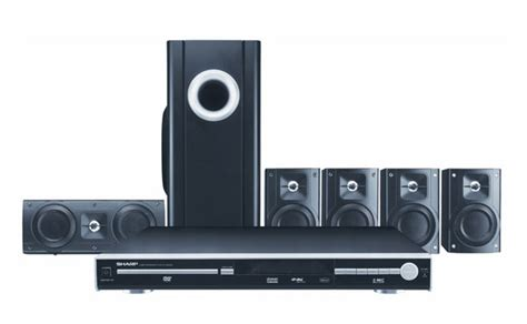 sharp ht cn550 region free home theater system ht