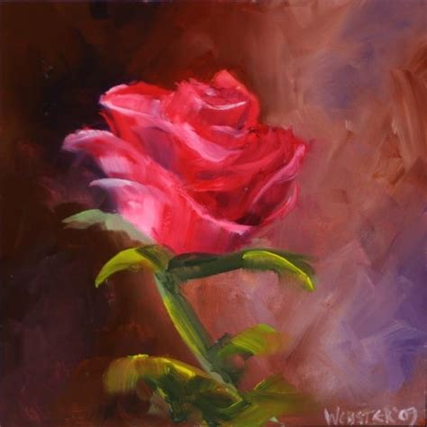 acrylic painting roses by any other name triptych 1 painting daily