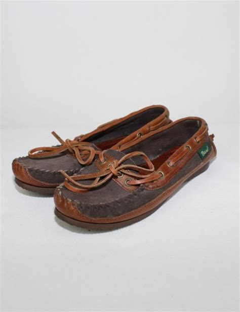 bass moccasin slippers bass leather moccasins 6 vintaya