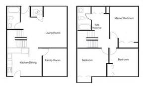 Awesome 1 Room Cabin Floor Plans #3: Floor-plan-simplified-3BR.gif
