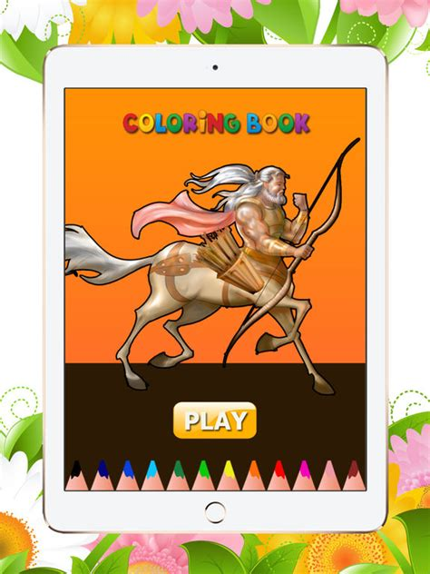 mythological coloring book framed version digital app friendly books app shopper mythical creatures coloring book for