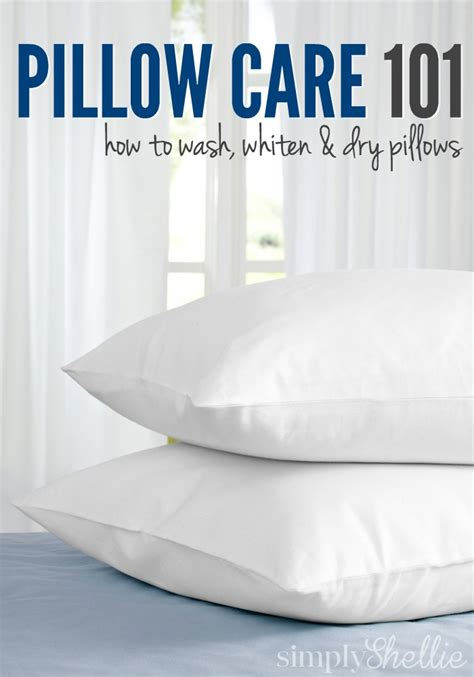 how to wash bed pillows pillow care 101 how to wash whiten dry pillows