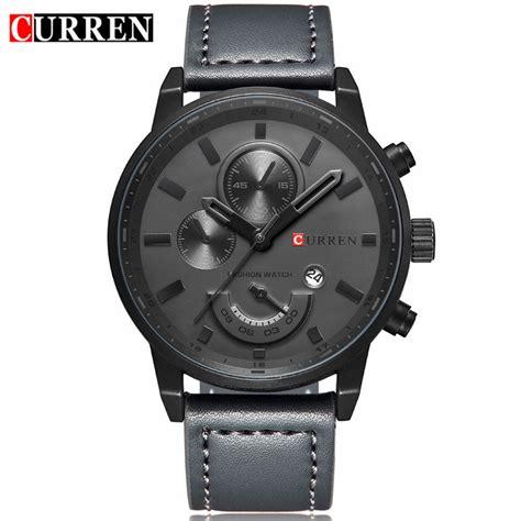 Jam Tangan Curren Sport curren jam tangan analog pria mk2 black black