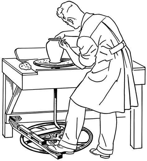 imagenes de hombres trabajando para colorear datei potters wheel psf png wikipedia