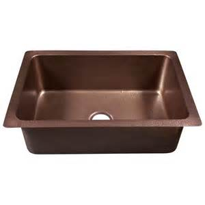 Copper Kitchen Sinks Kitchen Sinks The Home Depot