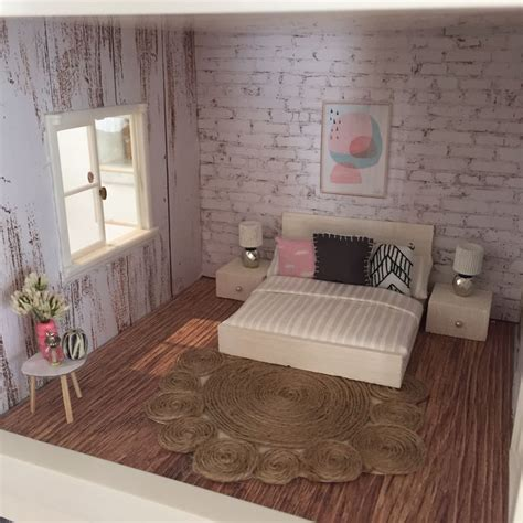 Bedroom Expressions Dollhouse Bed Lundby Dollhouse Renovation Diy Dollhouse Miniatures