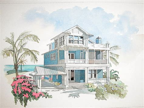 Coastal House Plans On Pilings | coastal home design plans beach house plans on pilings