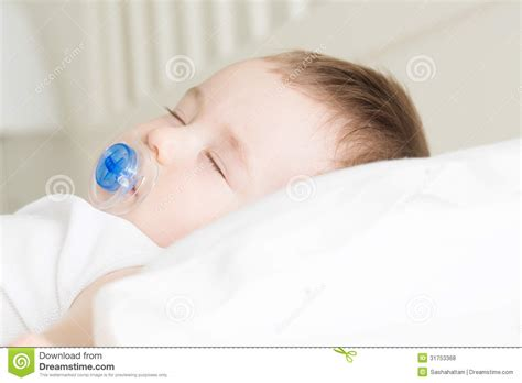 Newborn Sleeping On Pillow by Sleeping Baby Royalty Free Stock Photos Image 31753368